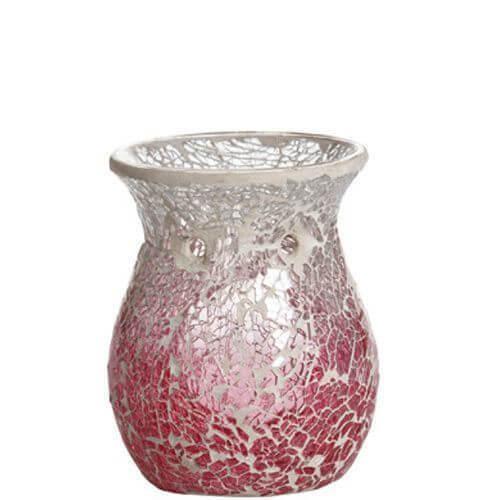 Pink Fade Smashed Mosaic Duftlampe