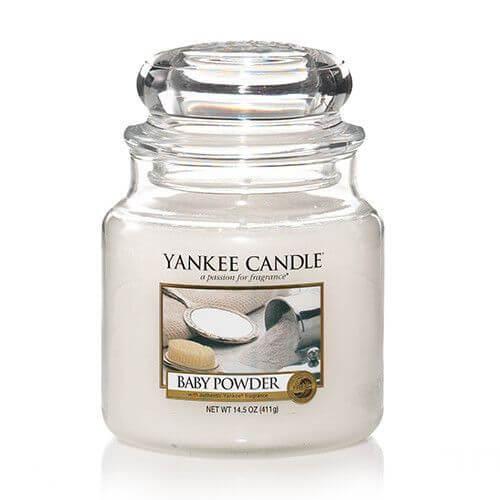 Yankee Candle Baby Powder 411g