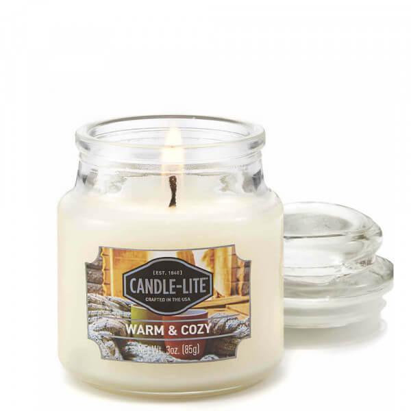 Warm & Cozy 85g von Candle-Lite