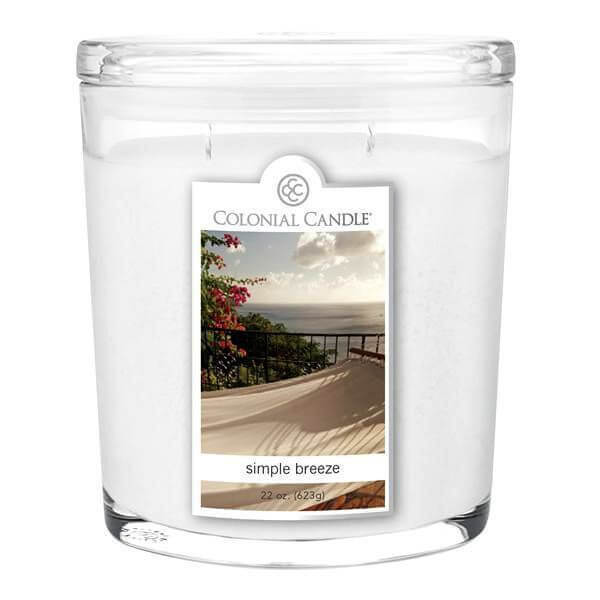 Colonial Candle Simple Breeze 623g