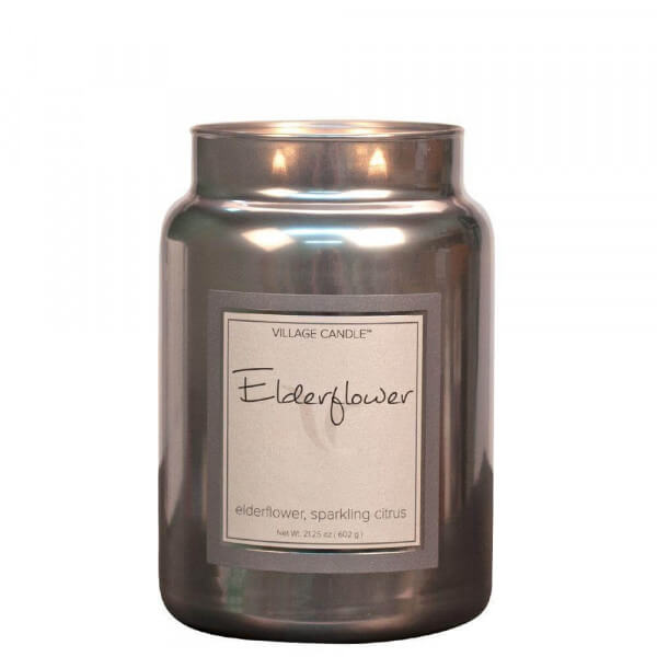 Elderflower Prosecco 626g von Village Candle