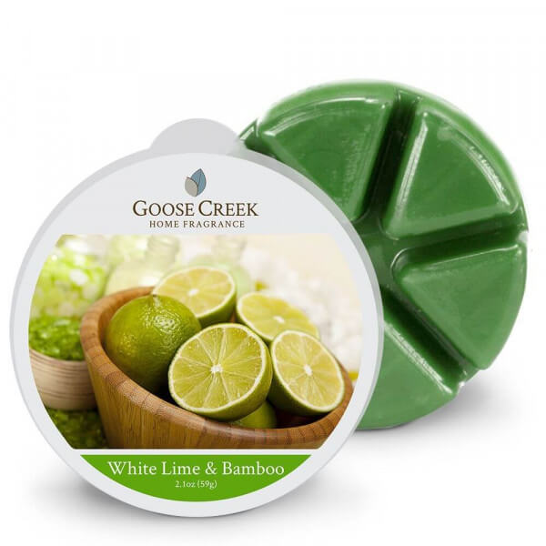 Goose Creek Candle White Lime & Bamboo 59g