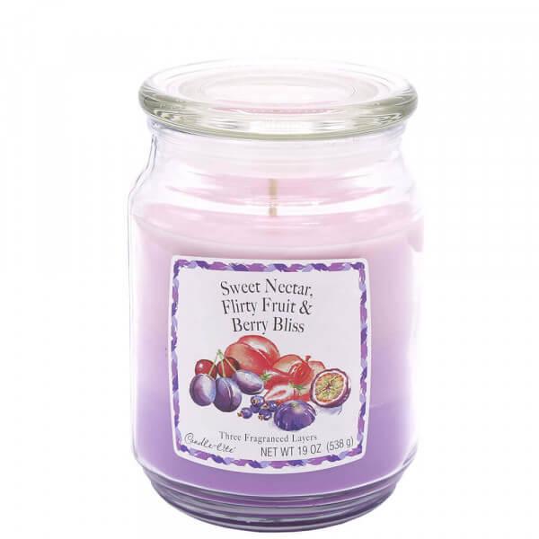 Sweet Nectar, Flirty Fruits, Berry Bliss 583g von Candle Lite