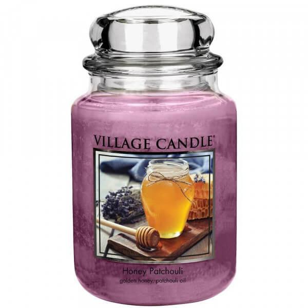 Village Candle Honey Patchouli 645g