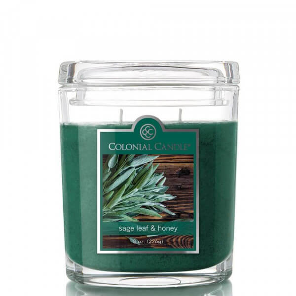 Colonial Candle - Sage Leaf & Honey 226g
