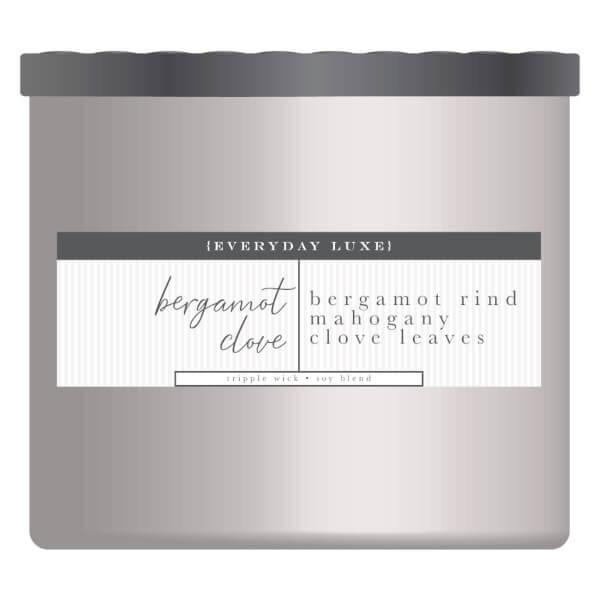 Duftkerze Bergamot Clove & Mahogany Wood - 411g