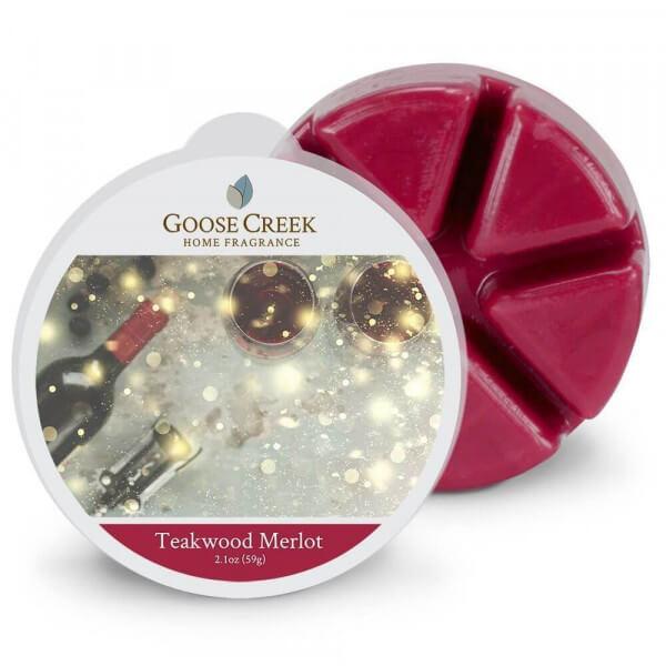 Teakwood Merlot 59g von Goose Creek Candle