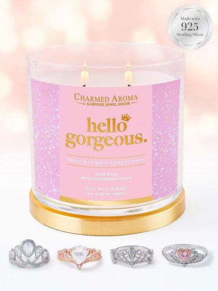 Hello Gorgeous (Ring) Candle