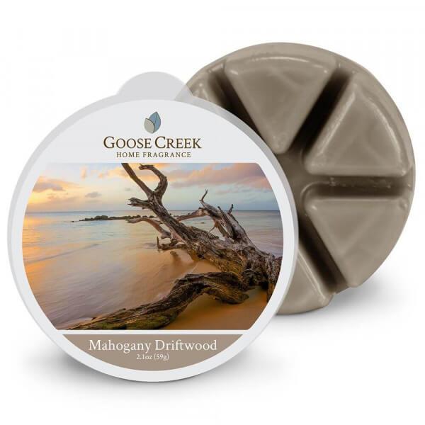 Goose Creek Candle Mahogany Driftwood 59g Melt