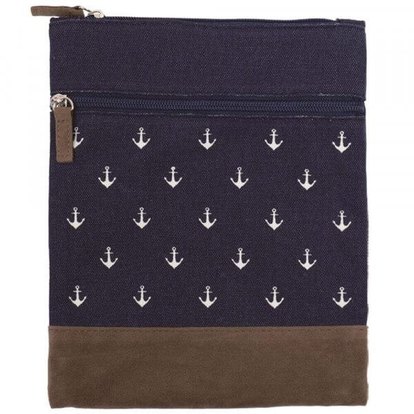 Canvas Crossbag 003 (Navy Anchor)