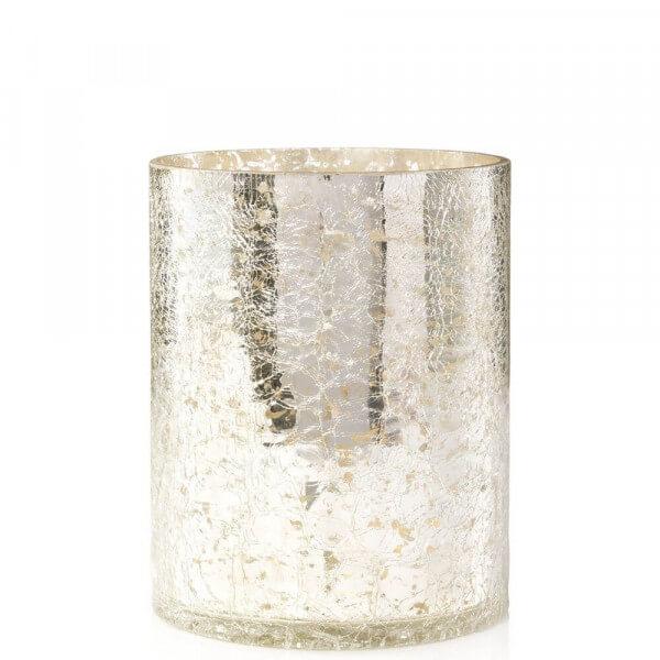 Kensington Mercury Crackle Jar Sleeve - von Yankee Candle