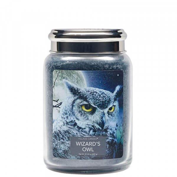 Wizard's Owl (Fantasy Jar) 602g