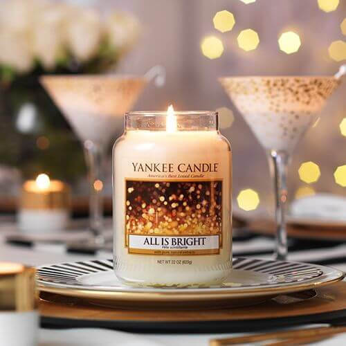 Yankee Candle All is Bright 623g