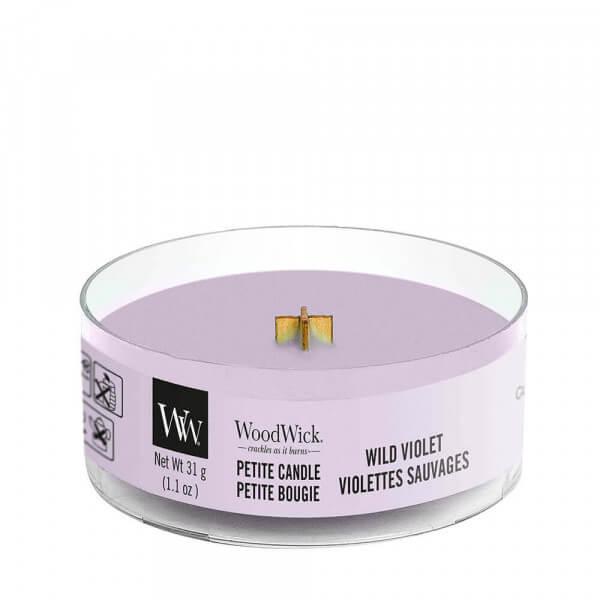 Wild Violet Petite Candle 31g von Woodwick