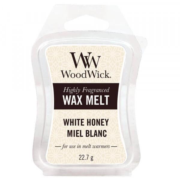White Honey Wax Melt 22,7g von Woodwick