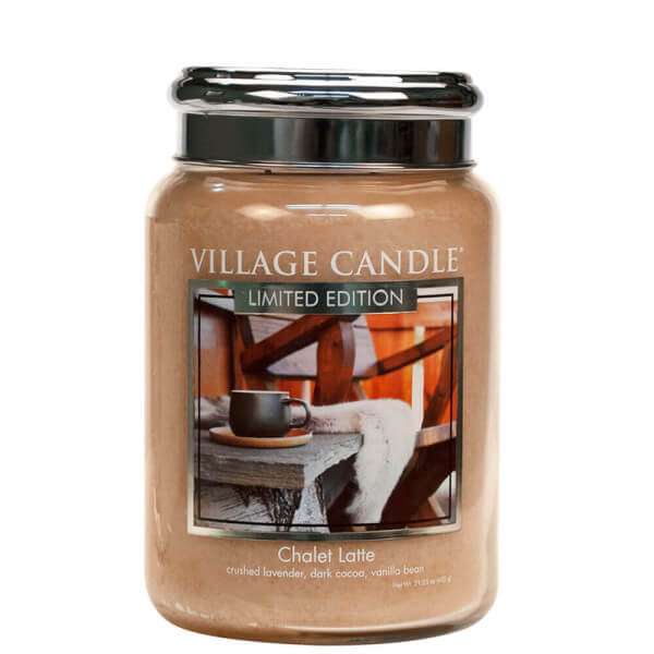 Chalet Latte 626g von Village Candle