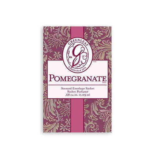 Greenleaf Pomegranate Duftsachet Small