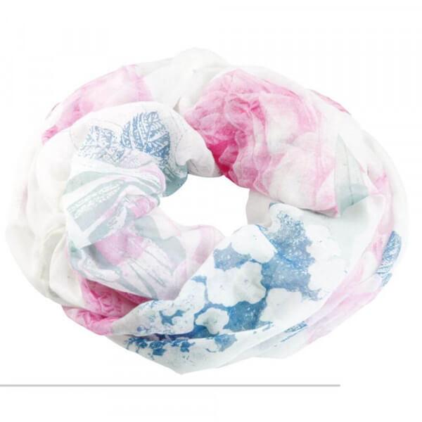Print-Loop Rose Mint 014