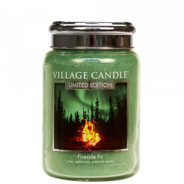 Fireside Fir 626g von Village Candle