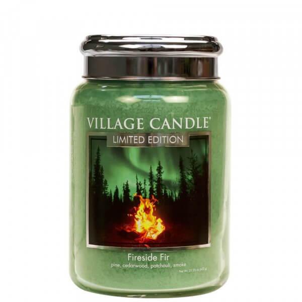 Fireside Fir 626g von Village Candle