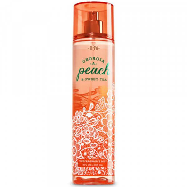 Georgia Peach Sweet Tea Bodyspray 236ml von Bath and Body Works online bestellen