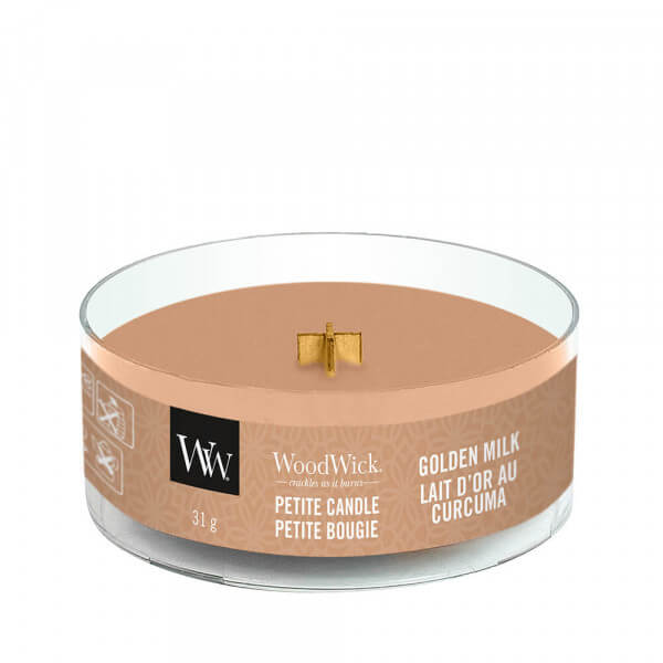 Golden Milk Petite Candle 31g von Woodwick