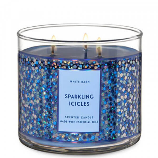 Sparkling Icicles 411g von Bath and Body Works