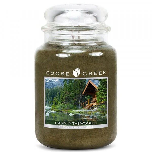 Goose Creek Candle - Cabin in the Woods 680g