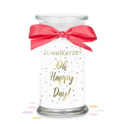 Oh Happy Day (Armband) 380g von Juwel Kerze