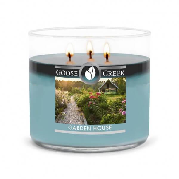 Goose Creek Candle Garden House 411g 3-Docht Duftkerze