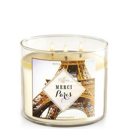 bath body works merci paris 411g candle dream. Black Bedroom Furniture Sets. Home Design Ideas