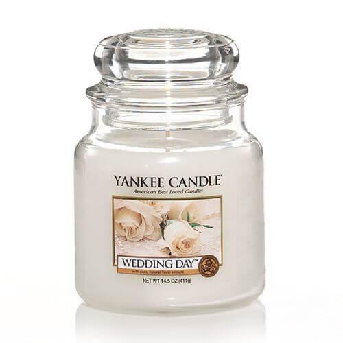 wedding day 411g von yankee candle online bestellen candle dream. Black Bedroom Furniture Sets. Home Design Ideas