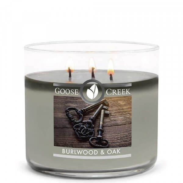 Burlwood & Oak 411g von Goose Creek Candle