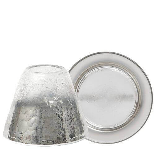 Yankee Candle Platinum Fade Lampenschirmset klein