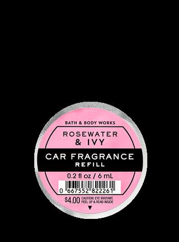 Auto-Lufterfrischer Refill - Rosewater & Ivy - 6ml