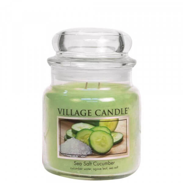 Sea Salt Cucumber 411g - Village Candle
