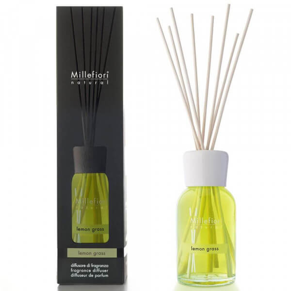 Lemon Grass - Natural Stick Diffuser 100ml - Millefiori