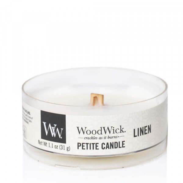 Linen Petite Candle 31g von Woodwick