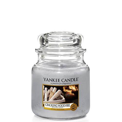 crackling wood fire 411g von yankee candle online bestellen candle dream. Black Bedroom Furniture Sets. Home Design Ideas