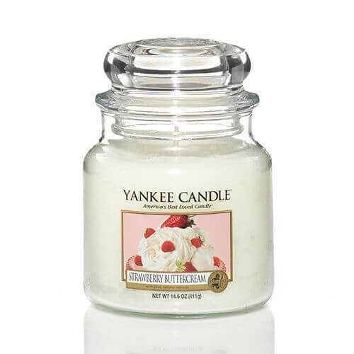 Yankee Candle Strawberry Buttercream 411g