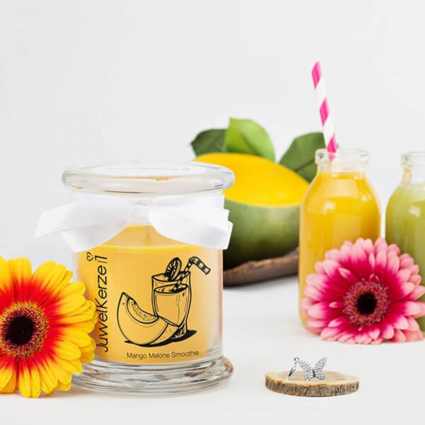 JuwelKerze Mango Melone Smoothie (Charm Anhänger) 230g