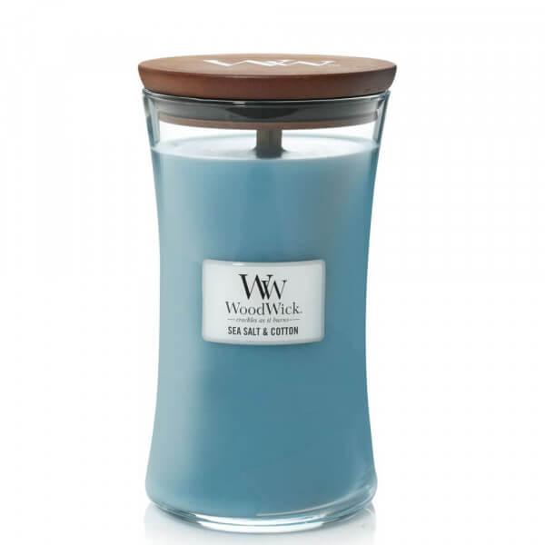 Sea Salt & Cotton 610g von Woodwick