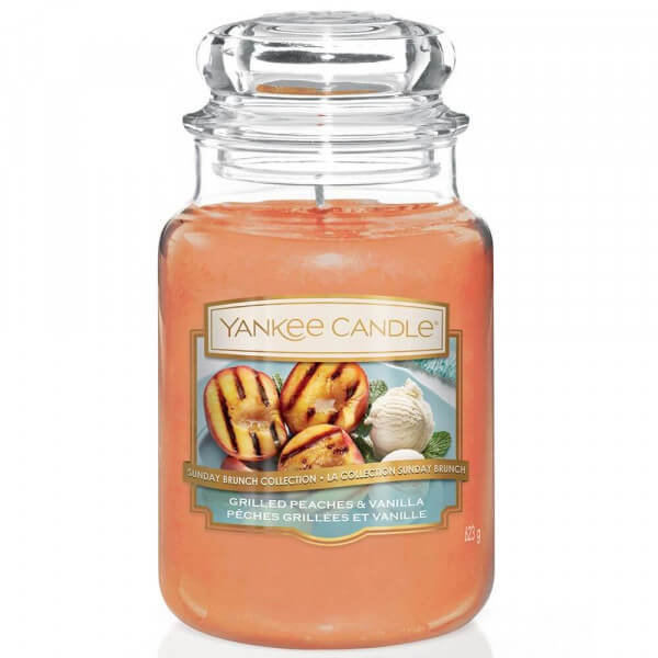 Grilled Peaches & Vanilla 623g von Yankee Candle