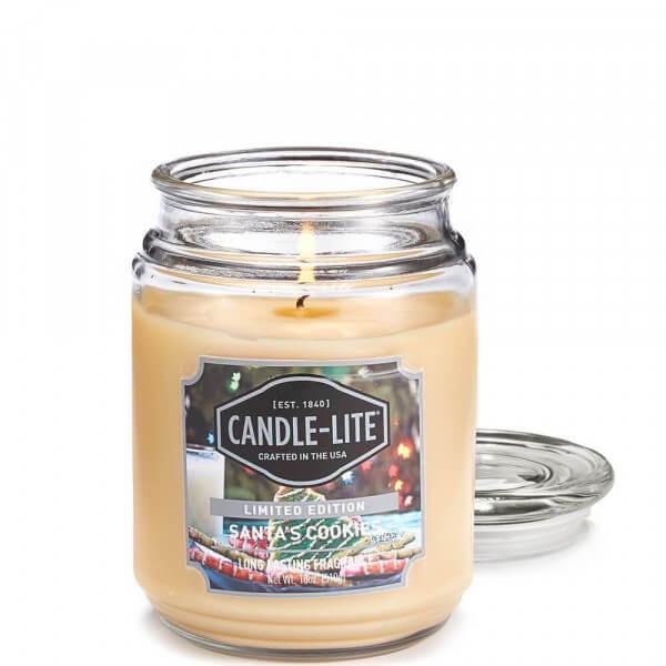 Santa's Cookies 510g von Candle-Lite