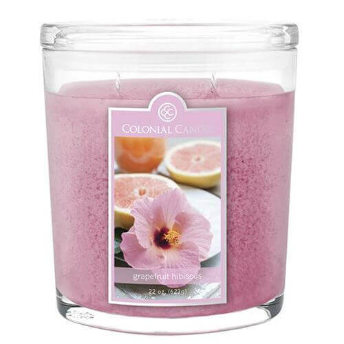 Colonial Candle Grapefruit Hibiscus 623g