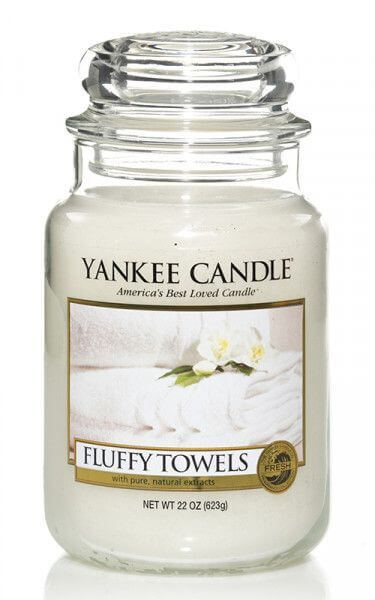 Yankee Candle Fluffy Towels 623g