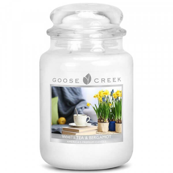 Goose Creek Candle - White Tea & Bergamot 680g