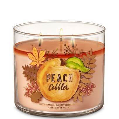 Peach Cobbler 411g von Bath and Body Works