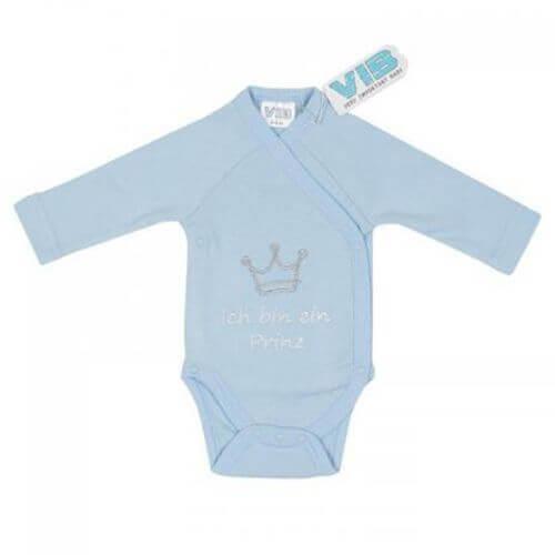 Baby Body Ich bin ein Prinz (Blau)
