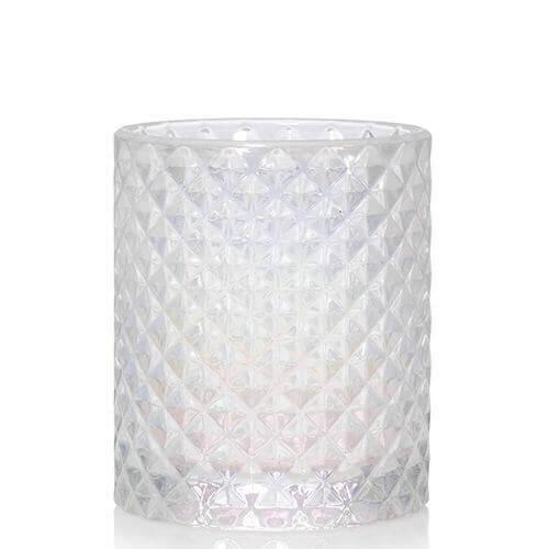 Langham - Votivkerzenhalter Strukturiertes Glas